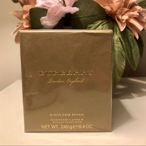 Burberry English Rose Scented Candle 8.4 oz